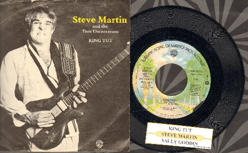 Martin, Steve - King Tut/Sally Goodin (with juke box label and picture sleeve) - NM9/VG7 - 45 rpm Records