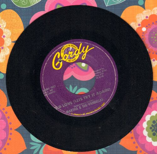Martha & The Vandellas - Old Love (Let's Try It Again)/Live Wire (bb) - NM9/ - 45 rpm Records