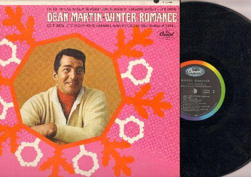 Martin, Dean - Winter Romance: Baby It's Cold Outside, I've Got My Love To Keep Me Warm, Winter Wonderland (vinyl MONO LP record) - EX8/NM9 - LP Records