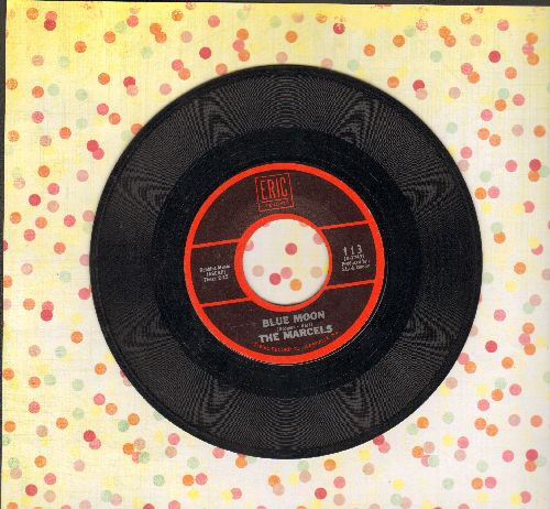 Marcels - Blue Moon/Goodbye To Love (1970s re-issue) - VG7/ - 45 rpm Records