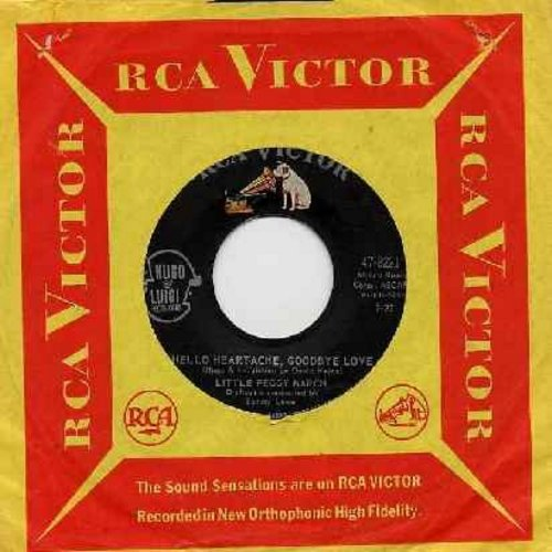March, Little Peggy - Hello Heartache, Goodbye Love/Boy Crazy (first issue with vintage RCA company sleeve) - EX8/ - 45 rpm Records