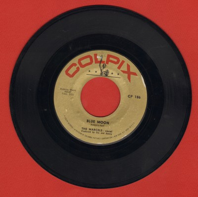 Marcels - Blue Moon/Goodbye To Love  - VG7/ - 45 rpm Records
