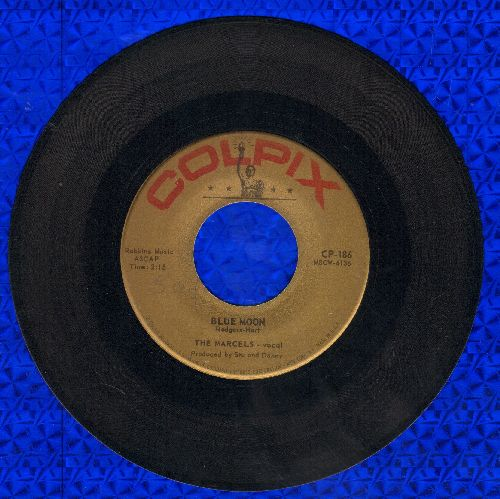 Marcels - Blue Moon/Goodbye To Love  - VG6/ - 45 rpm Records