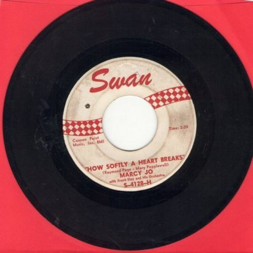Marcy Jo - How Softly A Heart Breaks/Night (bb) - VG7/ - 45 rpm Records