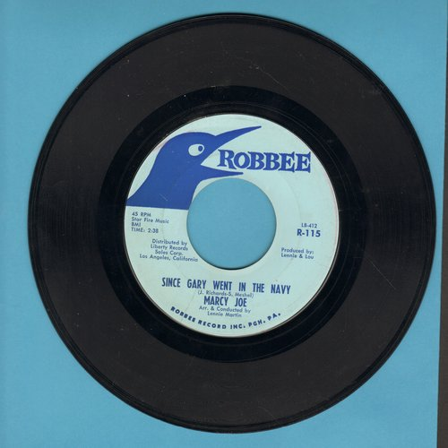 Marcy Jo - Since Gary Went In The Navy/What I Did This Summer  - NM9/ - 45 rpm Records
