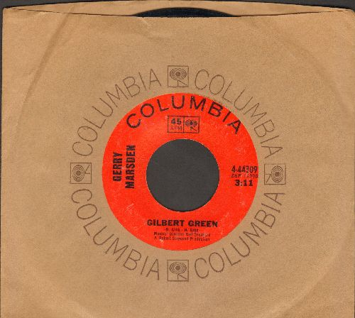 Marsden, Gerry - Gilbert Green/Please Let Them Be (with Columbia company sleeve) - EX8/ - 45 rpm Records