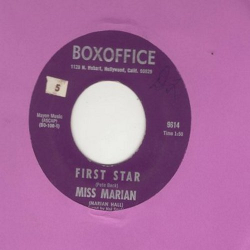 Miss Marian - First Star/Mirror, Mirror - NM9/ - 45 rpm Records