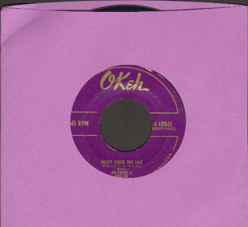 Maphis, Joe & Rose Lee - Dream House For Sale/The Go 'Fer Song - VG7/ - 45 rpm Records