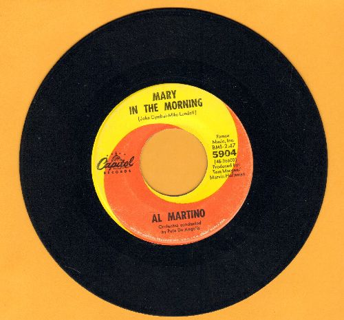Martino, Al - Mary In The Morning/I Love You And You Love Me - EX8/ - 45 rpm Records