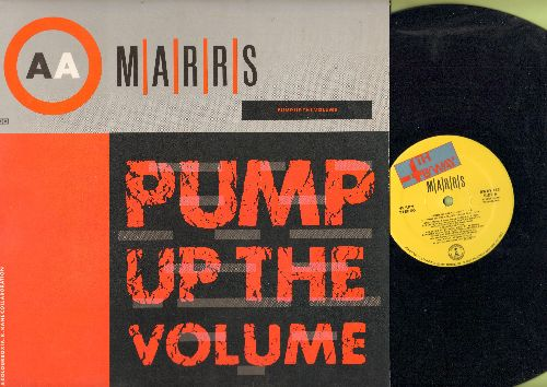 Marrs - Pump Up The Volume (4 Extended Dance Club Versions)/Anitina (First Time I See She Dance) (12 inch 45rpm Maxi Single with picture cover) - NM9/EX8 - Maxi Singles