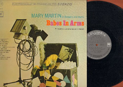 Babes In Arms - Babes In Arms: Mary Martin and Jack Cassidy star in the Rogers and Hart Classic (VinylSTEREO LP record) - NM9/NM9 - LP Records