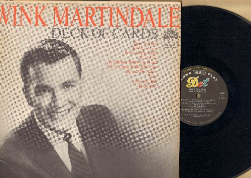 Martindale, Wink - Deck Of Cards: Beyond The Sunset, Moon River, Little Boy Blue, Peace In The Valley, Melody Of Love, Just A Closer Walk With Thee (vinyl MONO LP record) - NM9/EX8 - LP Records