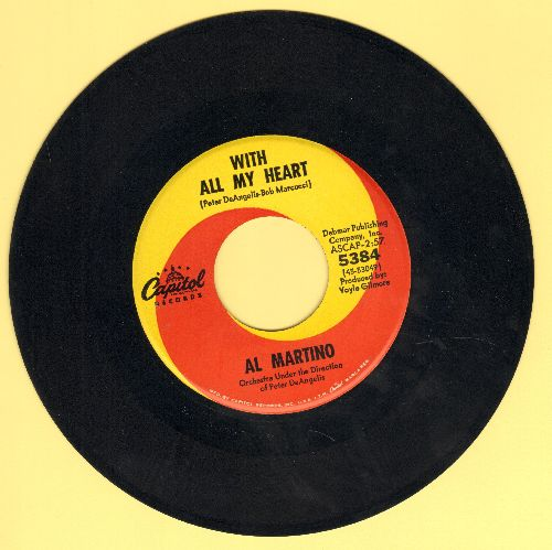 Martino, Al - With All My Heart/Somebody Else Is Taking My Place - EX8/ - 45 rpm Records