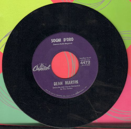 Martin, Dean - Sogni D'oro/How Sweet It Is - NM9/ - 45 rpm Records
