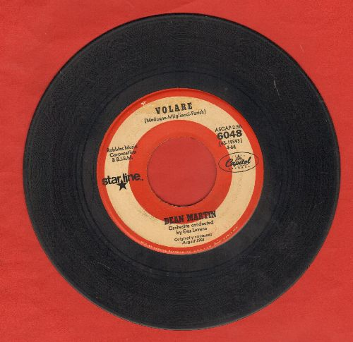 Martin, Dean - Volare/Return To Me (double-hit re-issue) - VG6/ - 45 rpm Records