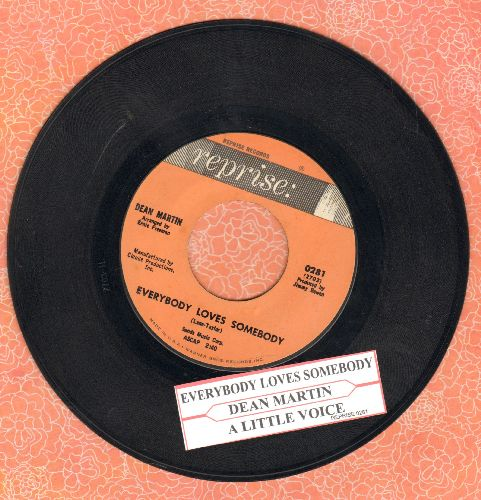 Martin, Dean - Everybody Loves Somebody/A Little Voice (with juke box label) - NM9/ - 45 rpm Records