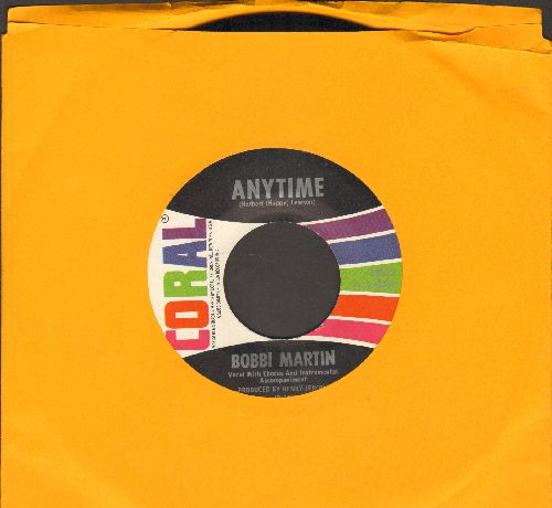 Martin, Bobbi - Anytime/How Long - NM9/ - 45 rpm Records