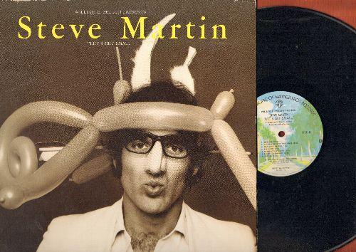 Martin, Steve - Let's Get Small - Original 1977 Comedy Album (vinyl LP record, gate-fold cover) - NM9/EX8 - LP Records