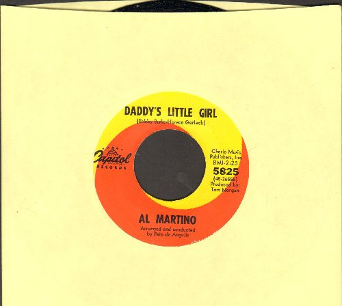 Martino, Al - Daddy's Little Girl (FAVORITE for Wedding Reception Father/Daughter Dance!)/Devotion (MINT condition) - M10/ - 45 rpm Records