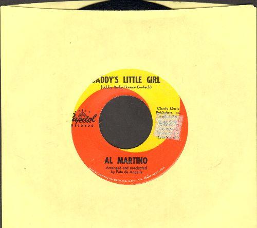 Martino, Al - Daddy's Little Girl (FAVORITE for Wedding Reception Father/Daughter Dance!)/Devotion - EX8/ - 45 rpm Records