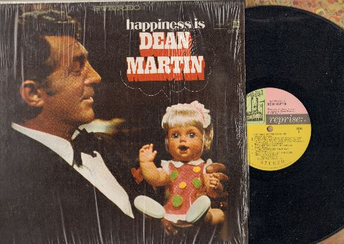 Martin, Dean - Happines Is: Lay Some Happiness On Me, He's Got You, Let The God Times In, I'm Not The Marrying Kind (vinyl STEREO LP record) - EX8/NM9 - LP Records