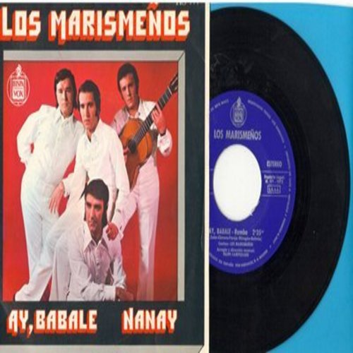 Los Marismenos - Ay, Babale/Nanay (Spanish Pressing with picture sleeve, sung in Spanish) - NM9/NM9 - 45 rpm Records
