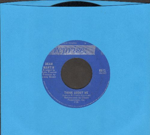 Martin, Dean - Think About Me/Lay Some Happiness On Me - NM9/ - 45 rpm Records