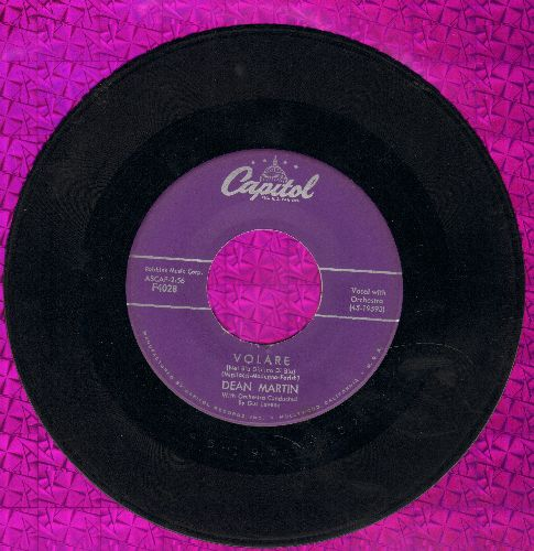 Martin, Dean - Volare/Outta My Mind (purple label first pressing) - VG7/ - 45 rpm Records