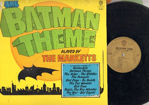 Marketts - The Batman Theme: Batmobile, The Joker, Bat Cave, Robin The Wonder Boy, The Penguin (Vinyl MONO LP record) - VG7/VG7 - LP Records