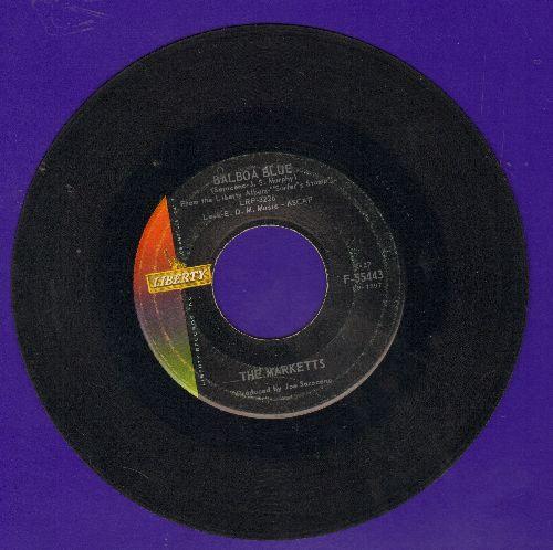 Marketts - Balboa Blue/Stompede - VG7/ - 45 rpm Records
