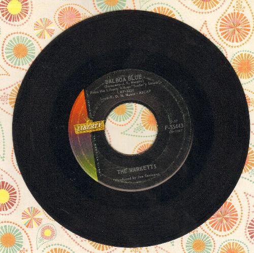 Marketts - Balboa Blue/Stompede - EX8/ - 45 rpm Records