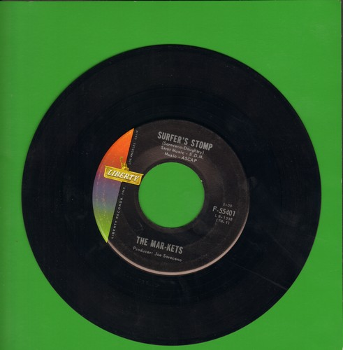 Mar-Kets - Surfer's Stomp/Start  - VG6/ - 45 rpm Records