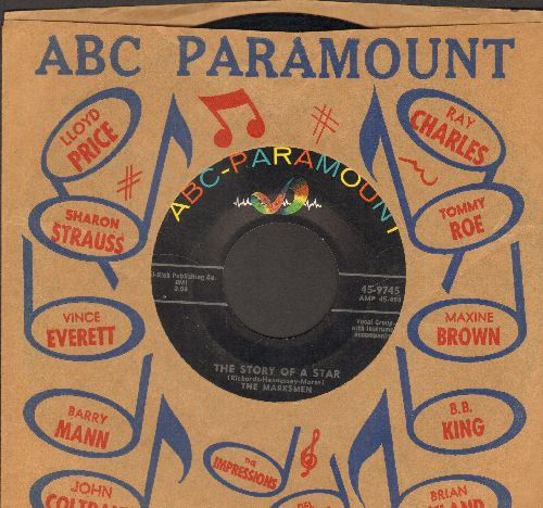 Marksmen - The Story Of A Star/Hands (with ABC-Paramount company sleeve) - VG7/ - 45 rpm Records