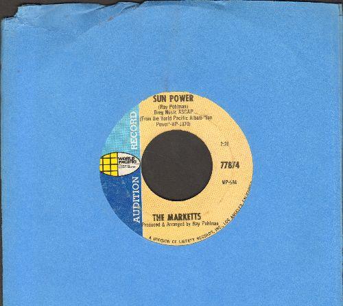 Marketts - Sun Power/Sunshine Girl (DJ advance pressing, wol) - EX8/ - 45 rpm Records