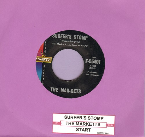 Mar-Kets - Surfer's Stomp/Start (with juke box label) - EX8/ - 45 rpm Records