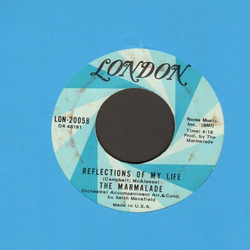 Marmalade - Reflections Of My Life/Rollin' My Thing  - EX8/ - 45 rpm Records