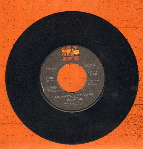 Marmalade - Falling Apart At The Seams/Fly, Fly, Fly - VG7/ - 45 rpm Records