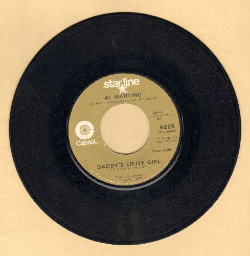 Martino, Al - Daddy's Little Girl/I Love You More And More Every Day (double-hit re-issue) - VG7/ - 45 rpm Records