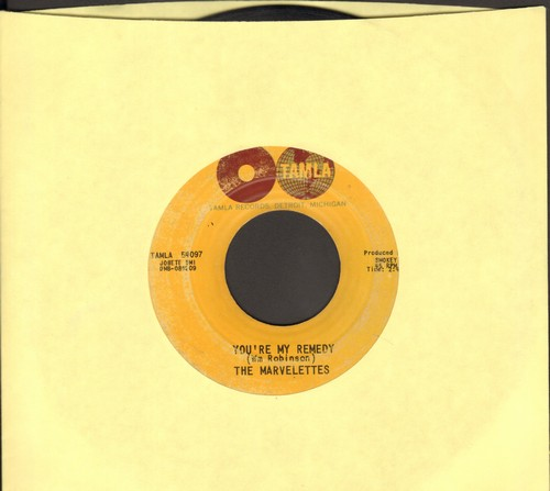 Marvelettes - You're My Remedy/A Little Bit Of Sympathy, A Little Bit Of Love - VG7/ - 45 rpm Records