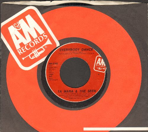Ta Mara & The Seen - Everybody Dance/Lonely Heart (with A&M company sleeve) - NM9/ - 45 rpm Records