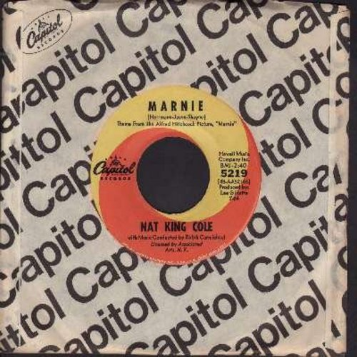 Cole, Nat King - Marnie/More And More Of Your Amor (with Capitol company sleeve) - NM9/ - 45 rpm Records