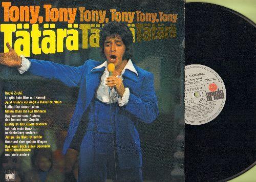 Marshall, Tony - Tony, Tony, Tatara: Rucki Zucki, Es gibt kein Bier auf Hawaii, Fussball ist unser Leben, Junge die Welt ist schoen (Vinyl STEREO LP record, German Pressing, sung in German) - NM9/NM9 - LP Records