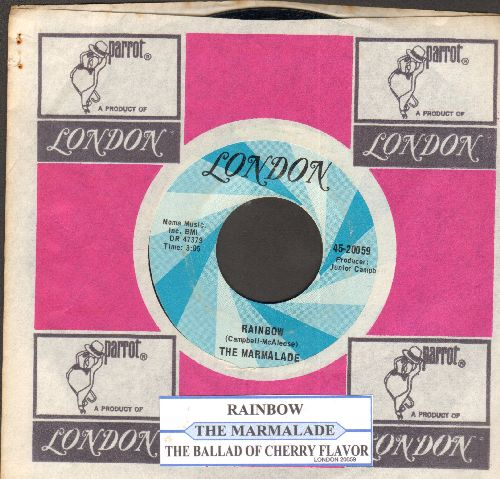 Marmalade - Rainbow/The Ballad Of Cherry Flavor (with juke box label and company sleeve) - NM9/ - 45 rpm Records