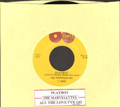 Marvelettes - Playboy/All The Love I've Got (with juke box label)  - NM9/ - 45 rpm Records