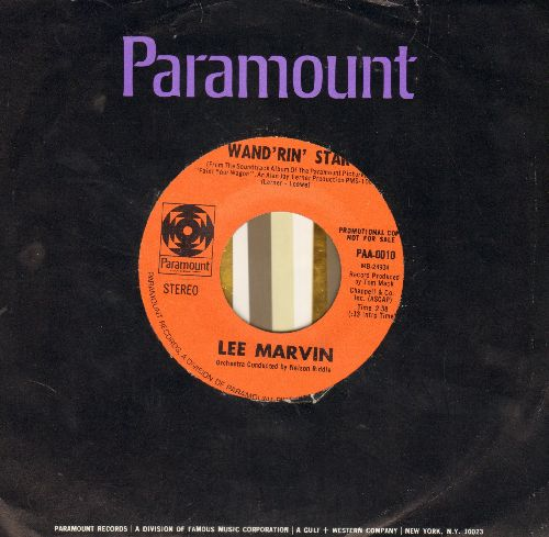 Marvin, Lee - Wand'rin Star/Best Things (MINT condition DJ advance pressing with vintage Paramount company sleeve) - M10/ - 45 rpm Records