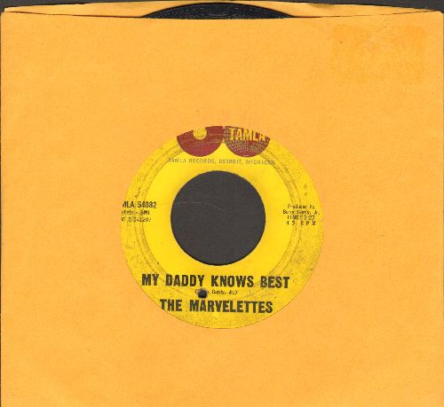 Marvelettes - My Daddy Knows Best/Tie A String Around Your Finger (bb) - G5/ - 45 rpm Records