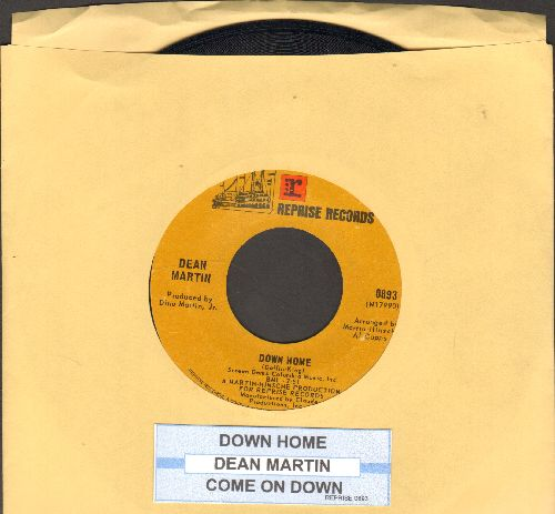Martin, Dean - Down Home (Overlooked DREAMY GEM!)/Come On Down (with juke box label) - NM9/ - 45 rpm Records