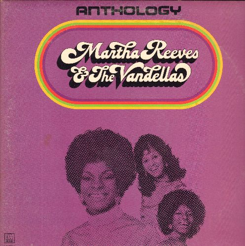 Martha & The Vendellas - Anthology: I'll Have To Let Him Go, Love Is Like A Heat Wave, Nowhere To Run, Jimmy Mack, Bless You (2 vinyl LP record set, gate-fold cover) - M10/VG7 - LP Records