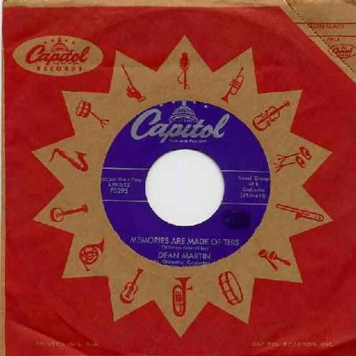 Martin, Dean - Memories Are Made Of This/Change Of Heart (with vintage Capitol company sleeve) - EX8/ - 45 rpm Records