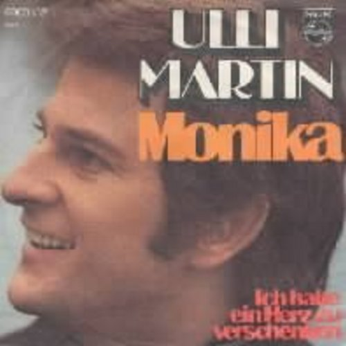 Martin, Ulli - Monika w/picture sleeve (German) - NM9/EX8 - 45 rpm Records